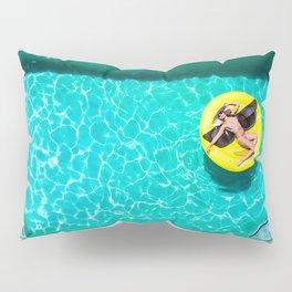 Emoji Float Swimming Pool Pillow Sham