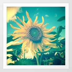 Looking on the Bright Side Art Print