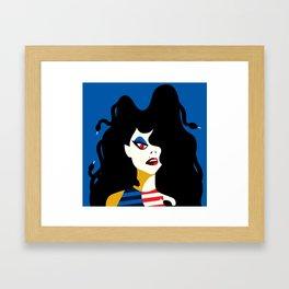 M is for MEDUSA Framed Art Print