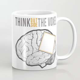 Think Outside the Voxel Coffee Mug