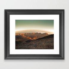 Life on Mars ? Framed Art Print
