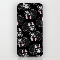 loll3 iPhone & iPod Skins featuring Home is where my Cat is by lOll3