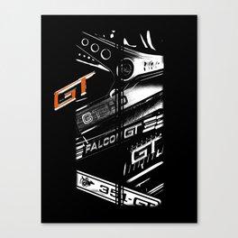 Ford Falcon XYGTHO Stripe Canvas Print