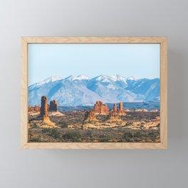 Landforms Framed Mini Art Print