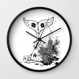 Hump Back Wall Clock