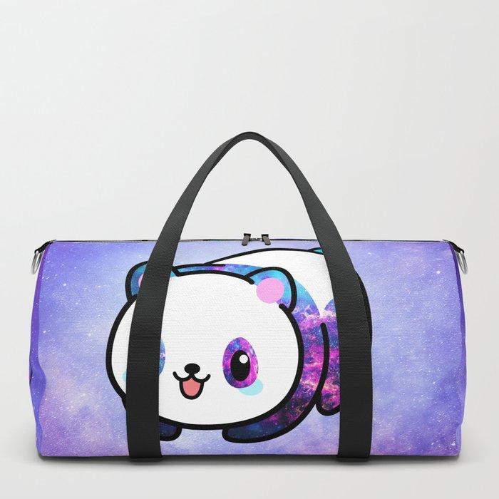 Kawaii Galactic Mighty Panda Duffle Bag