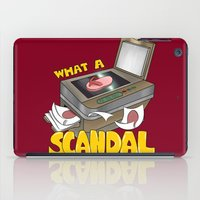 scandal iPad Cases featuring Scandal by MinaLotToMe