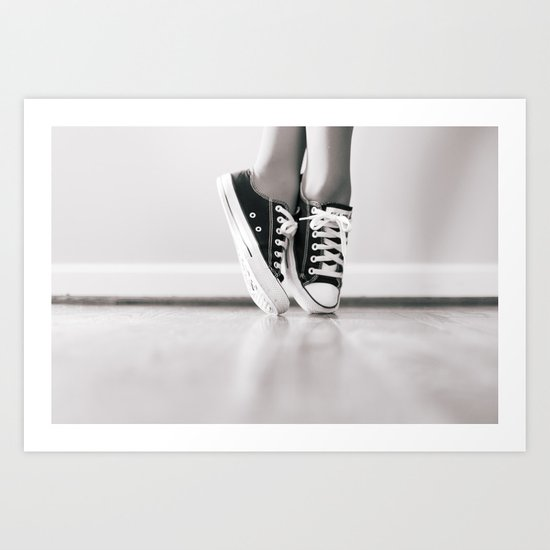 Faux Pointe Art Print