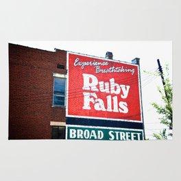 Ruby Falls Rug