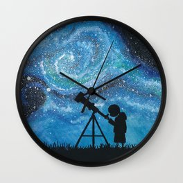 Observing the Universe Wall Clock