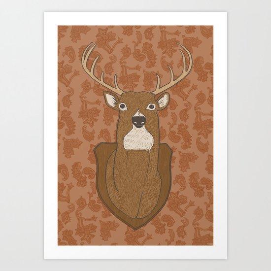 Regal Stag Art Print