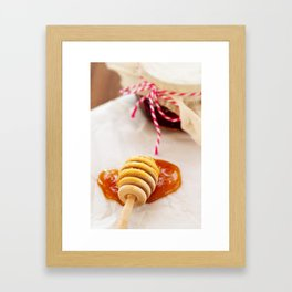 Honey and Jam Framed Art Print