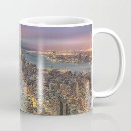 New York City Skyline Sunrise Coffee Mug