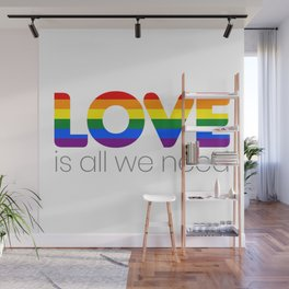 Love is all we need Wall Mural