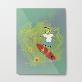 Toxictoad Metal Print