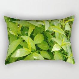 Greenery and leaf VII Rectangular Pillow