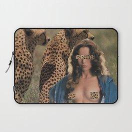 Leopard Lady Laptop Sleeve