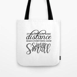 Distance Tote Bag