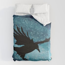 Descent of the Midnight Rook Comforters