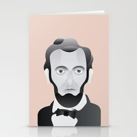 lincoln Stationery Cards featuring LINCOLN by armantas