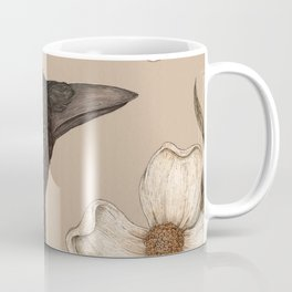 The Crow and Dogwoods Coffee Mug