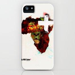 stop pretending iPhone Case