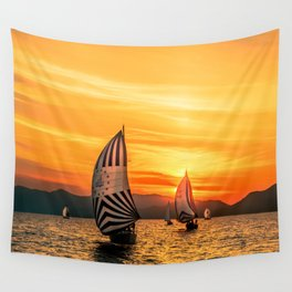Sun wind Wall Tapestry