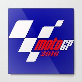 motoGP 2016 Metal Print