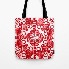4 Square Tote Bag