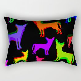 Chihuahua Pattern Rectangular Pillow