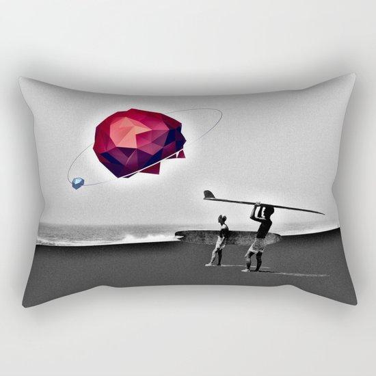Square Beach Rectangular Pillow