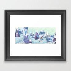 The Monstrous Mountains Framed Art Print