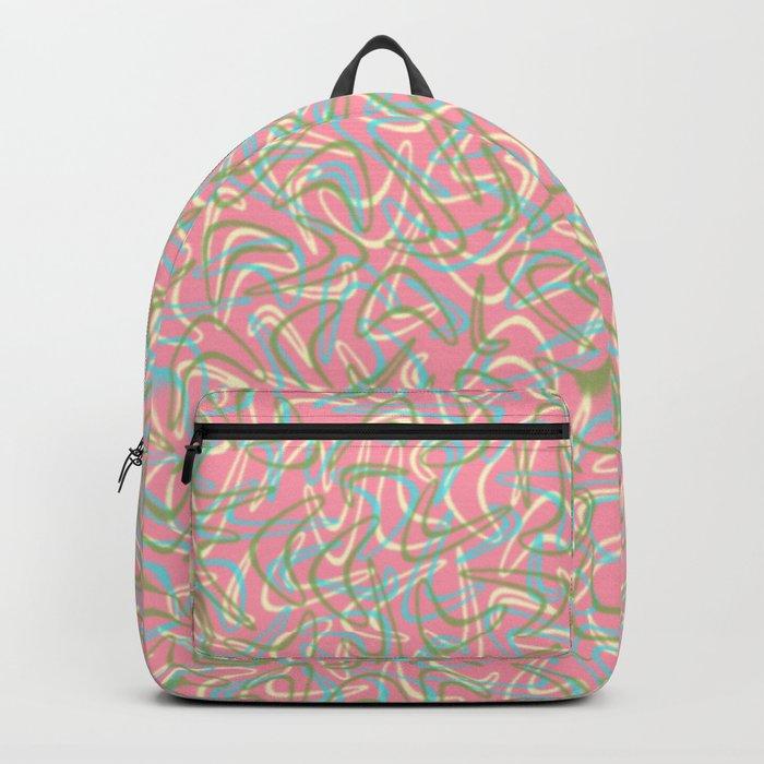 Boomerang Pink Backpack