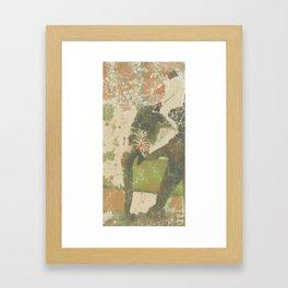 Indian Elephant Jaisalmer Framed Art Print