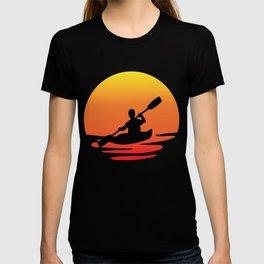 Kayak retro sunsit T-shirt