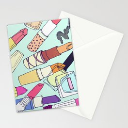 The make-up enthusiast Stationery Cards
