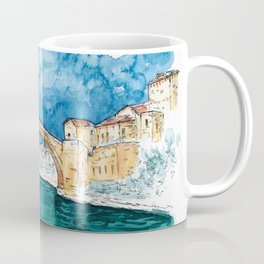 Stari Most Herzegovina Sketch Coffee Mug
