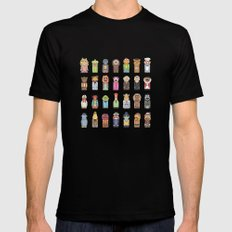 Muppets Black Mens Fitted Tee MEDIUM