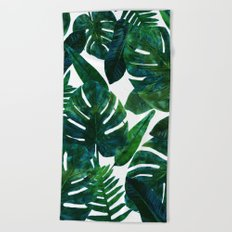 Perceptive Dream || #society6 #tropical #buyart Beach Towel