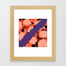 Abstract Digital Painting For Ruth Kligman.Tribute. Framed Art Print