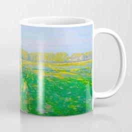 Václav Radimský (1867-1946) Bright Landscape Impressionist Landscape Painting Bright Colors Oil Coffee Mug