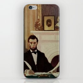 Scribners Magazine 1900 - Emancipation Proclamation issued by Abraham Lincoln iPhone Skin