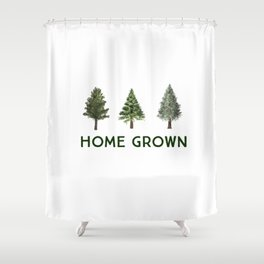 Home Grown Shower Curtain