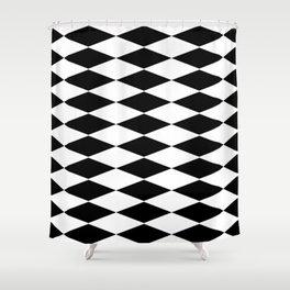 rhombus 3d Shower Curtain