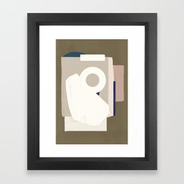 Branded Abstract 8 Framed Art Print