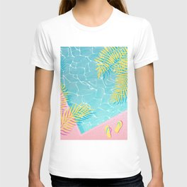 Tropical pool chill T-shirt