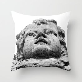 Stone Angel! Throw Pillow