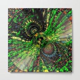 Mandalazoom 2b Metal Print