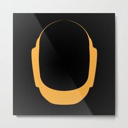Daft Punk Guy Manuel Helmet Metal Print