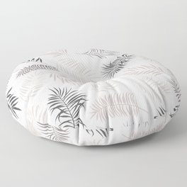Exotic palm leaves Floor Pillow